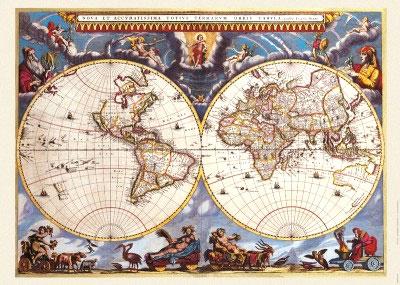 Постер: Карта мира