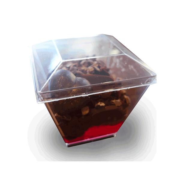 Шоколад темный с начинкой из сливок
