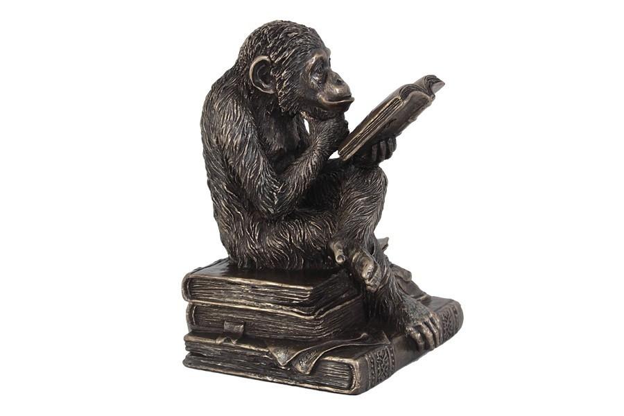 Статуэтка Обезьяна с книгой