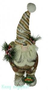 Новогодняя фигурка «Дед Мороз», 33 см