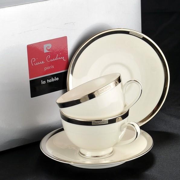 Чайная пара Pier Platino
