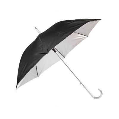 Зонт-трость полуавт. с алюминиевой ручкой