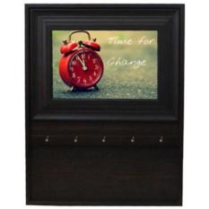 Ключница Время перемен (открытая настенная ключница-фоторамка)
