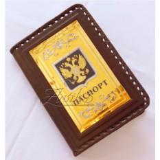 Кожаная обложка для паспорта «Гражданин»