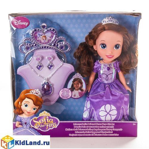 Кукла Принцесса Дисней София с украшениями для девочки