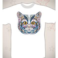 Подарочная футболка «Кошка»