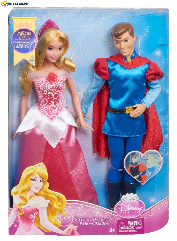 Пара кукол Disney Princess Спящая красавица и Принц Филипп