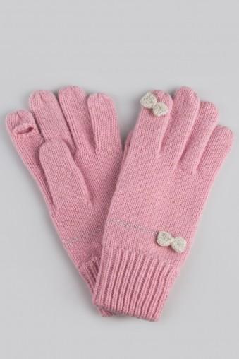 Перчатки Астрид, розовые