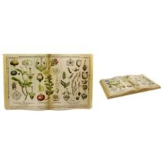 Декоративное панно Книга. Растения