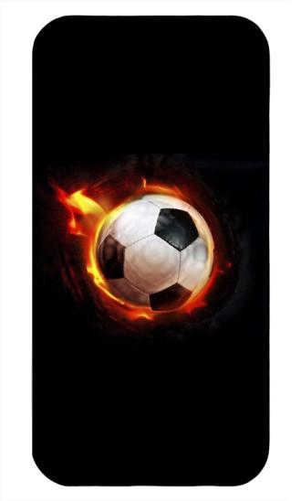 Пластиковая 3D накладка Soccer для iphone 4/4S