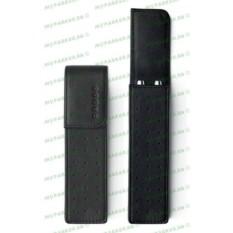 Черный кожаный футляр Cross для двух ручек
