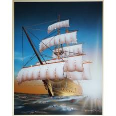 Картина Swarovski Морской круиз