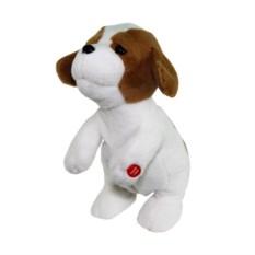 Интерактивная поющая игрушка Ласковый щенок (цвет: белый)