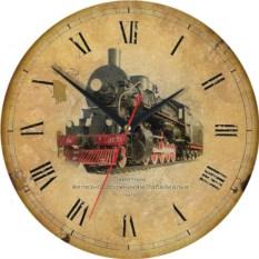 Сувенирные часы Чита. Паровоз