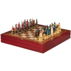 Шахматы для взрослых Хан Батый , размер 36 х 36 х 6 см