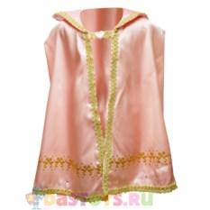 Детская розовая накидка для принцессы