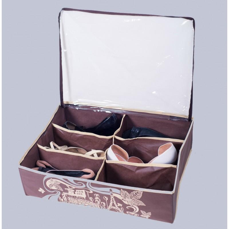 Кофр для обуви на 6 пар