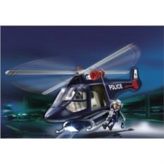 Конструктор Playmobil City Action Полицейский вертолет