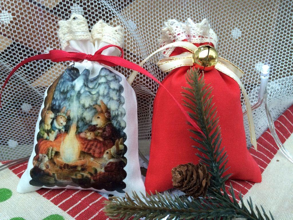 Рождественский набор саше Рождественские истории
