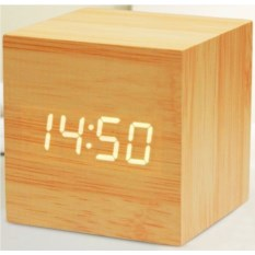 Часы-будильник Экокуб