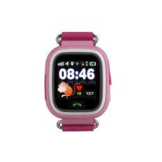 Розовые детские часы с GPS Q80 Smart Baby Watch