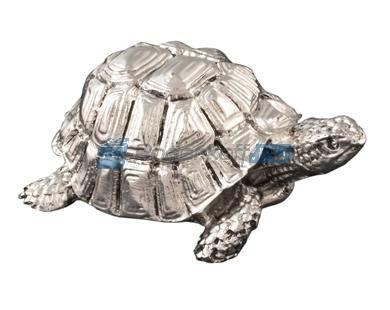 Статуэтка Черепаха с посеребрением