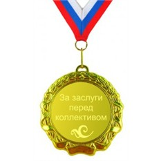 Сувенирная медаль За заслуги перед коллективом