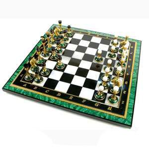 Шахматы «Малахитовое поле»