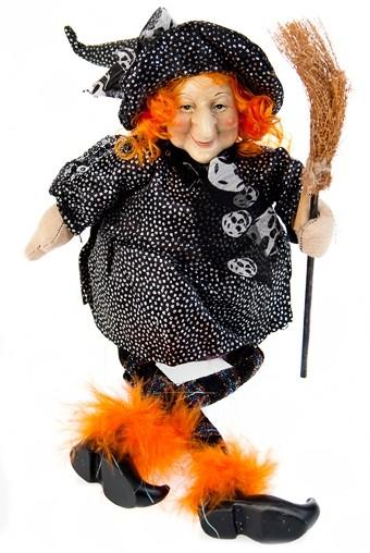 Декоративная кукла Рыжая ведьма