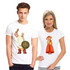 Парные футболки Алеша и Любава