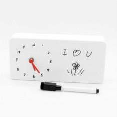 Настольные часы с маркером Творческие