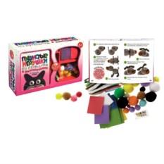 Набор для творчества Пушистые игрушки из помпончиков