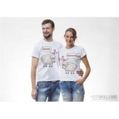 Парные футболки Кучерявая любовь