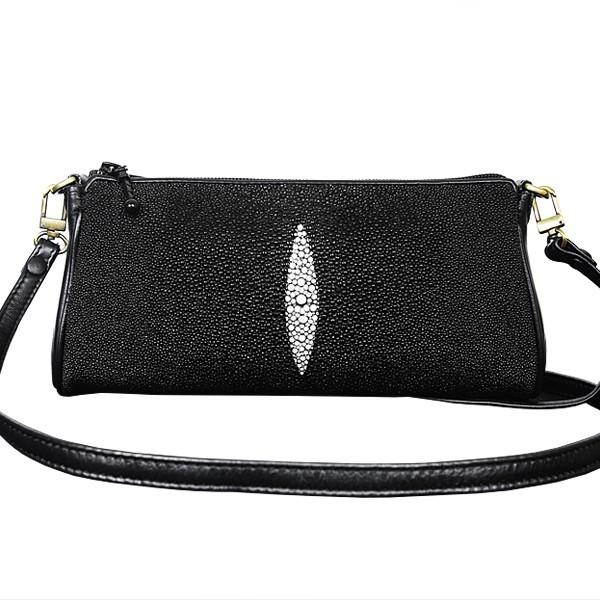 Женская сумочка из кожи морского ската