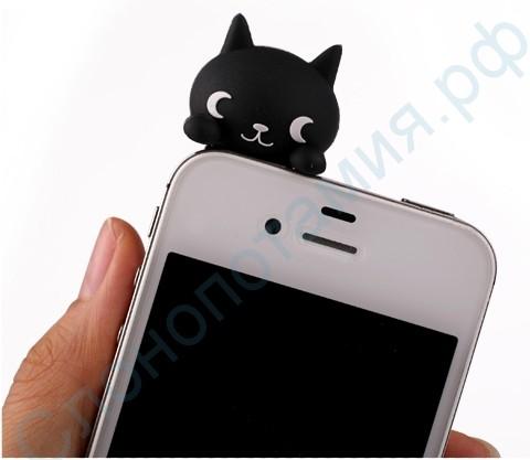 Штекер в разъем для наушников Большой котик, iPhone