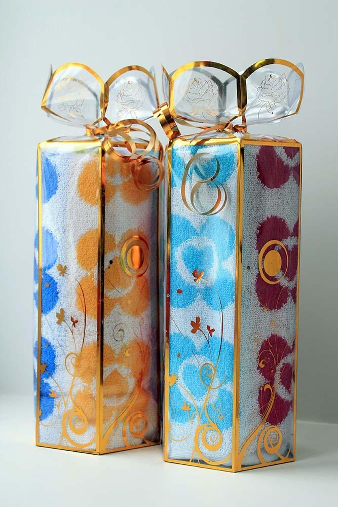 Подарочный набор полотенец Валентинки