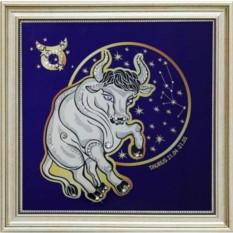 Картина Звездный телец (с кристаллами Сваровски)