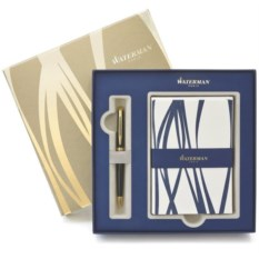 Подарочный набор Waterman: ручка Hemisphere Black и открытки