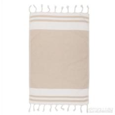 Бежевое кухонное полотенце Gusto 50х76 см