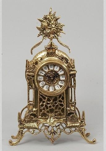 Бронзовые часы Восточная классика