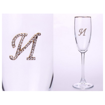 Бокал для шампанского «И»