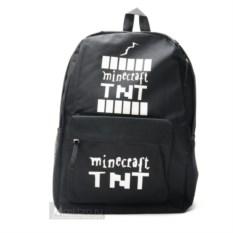 Черный рюкзак TNT Minecraft