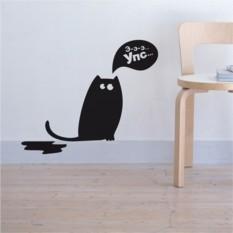 Интерьерные наклейки Кот и трагическая случайность