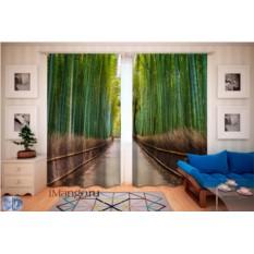Фотошторы Бамбуковый лес 3