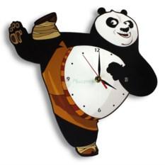 Настенные часы Кунг-фу Панда