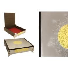 Шкатулка Dubai Gold/Silver
