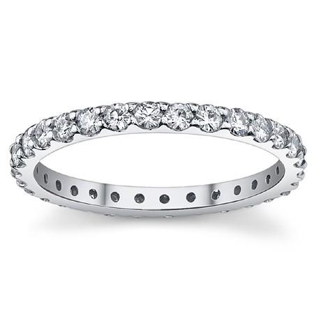 Обручальное кольцо из золота с камнями