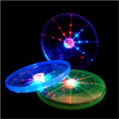Светящийся летающий диск фрисби