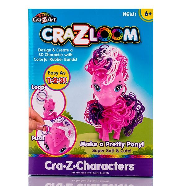 Набор для творчества Crazy Loom Пони и цветные резиночки