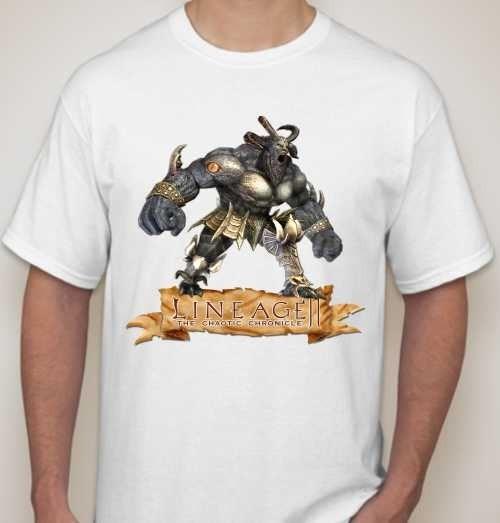 Мужская футболка lineage ||